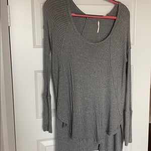 Gray Cozy Free People Thermal